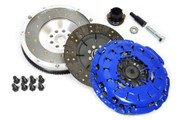 FX Stage 2 Clutch & Fidanza Flywheel Kit 1999-00 BMW 328I E46 528I E39 Z3 2.8L M52