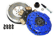 FX Stage 3 Clutch Kit & Fidanza Flywheel 1999-00 BMW 328I E46 528I E39 Z3 2.8L M52