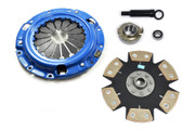 FX Stage 4 Clutch Kit 90-95 Mazda FWD Protege 1991-96 Ford Escort GT Tracer 1.8L