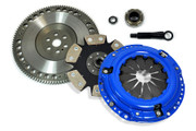 FX Stage 4 Clutch Kit & 8.5Lbs Chromoly Flywheel 1989-91 Honda Civic CRX 1.5L 1.6L