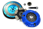 FX Stage 4 Clutch Kit & Aluminum Flywheel 1989-91 Civic CRX 1.5L 1.6L D15 D16 SOHC