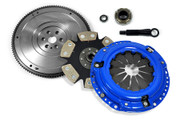 FX Stage 4 Clutch Kit & HD Nodular Flywheel Set for 1989-1991 Honda Civic / CRX 1.5L 1.6L SOHC