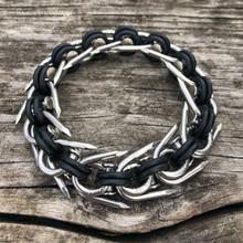 H3 Bracelet with Neoprene Rings