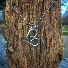 Unbreakable Heart Pendant Necklace with Stainless Cord
