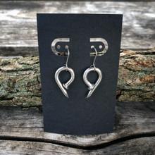 Single Link Trinity Earrings