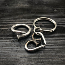 Unbreakable Heart Keychain + Ring
