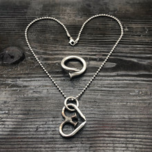 Unbreakable Heart Necklace + Ring