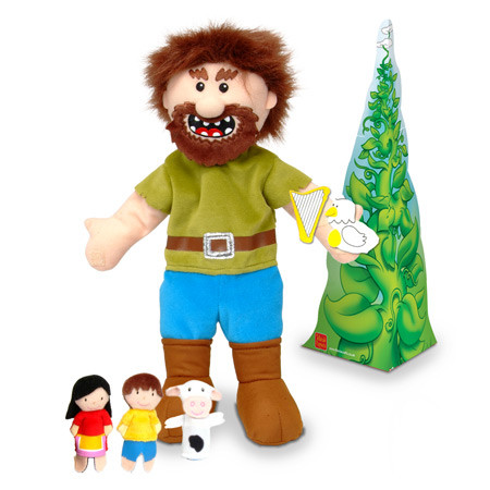 Jack and the Beanstalk Puppet Set