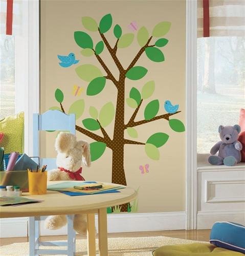 Room Mates Stickers - Dotted Tree