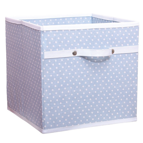 Blue Dotty Storage Box - Childrens Storage