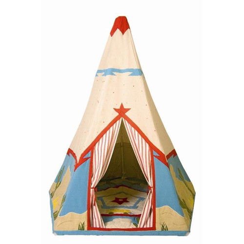 Win Green Cowboy Wigwam - Fabric Playhouse