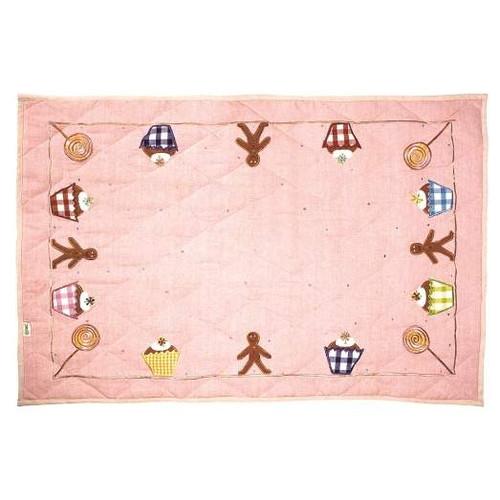 Win Green Gingerbread Floor Quilt - Large