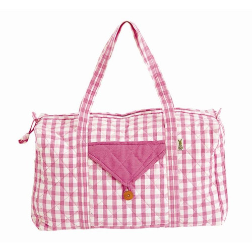 Win Green Pink Weekender Bag