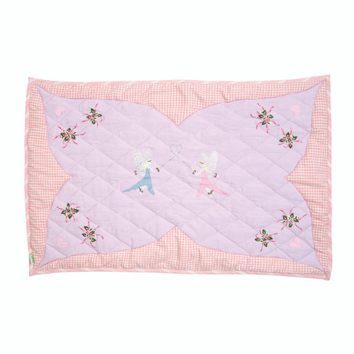 Win Green Fairy Floor Quilt - Small