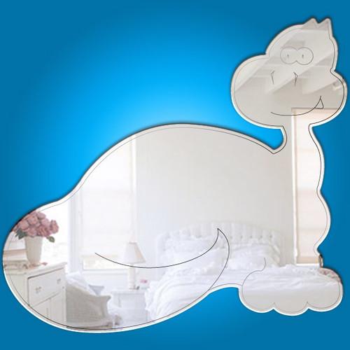 Childrens Mirrors - Baby Brontosaurus Mirror