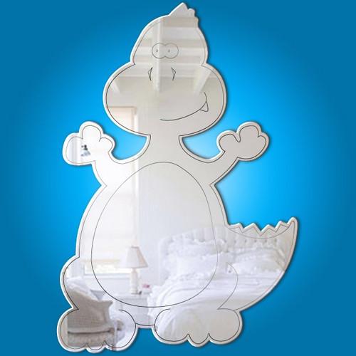 Childrens Mirrors - Baby T-Rex Mirror