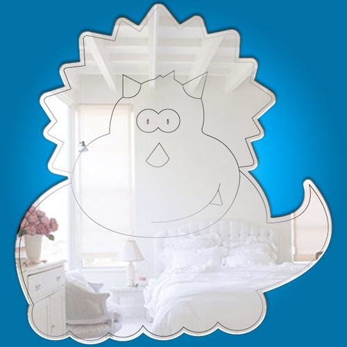 Childrens Mirrors - Baby Triceratops Mirror