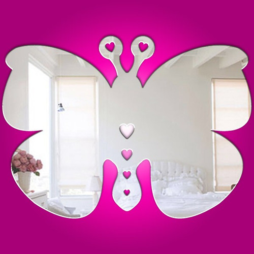 Childrens Mirrors - Baby Butterfly Mirror
