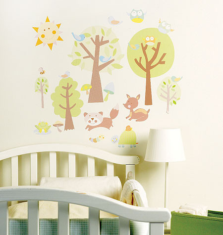 Animal Tales Wall Stickers - Wallies Baby - Kids Wall Stickers