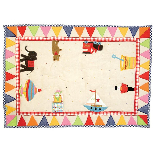 Win Green Toy Shop Floor Quilt - Small
