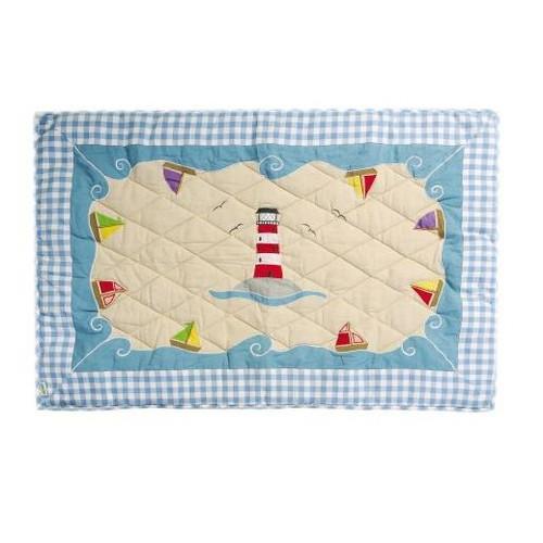 Win Green Beach House Floor Quilt - Small