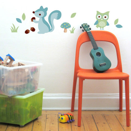 Forest Boy - Speckled House Nursery Wall Stickers
