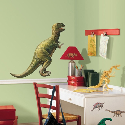 giant dinosaur wall stickers room mates dinosaur wall stickers wall art kids