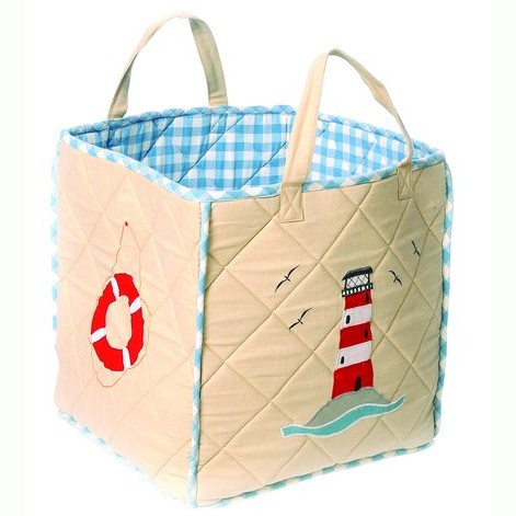 Win Green Beach House Toy Bag