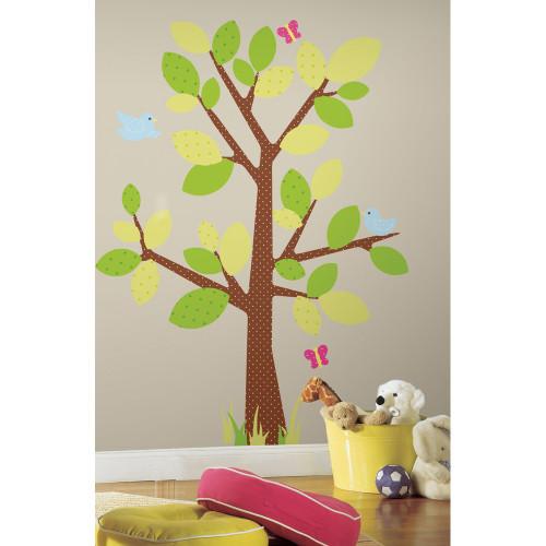 Kids Tree Wall Stickers - Roommates - Kids Wall Stickers