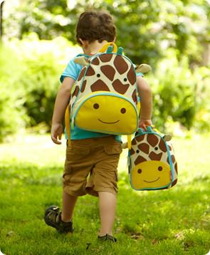 Skip Hop Zoo Pack Giraffe - Childrens Backpacks