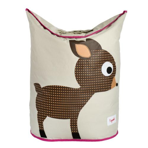 3 Sprouts Laundry Hamper Deer - Nursery Storage