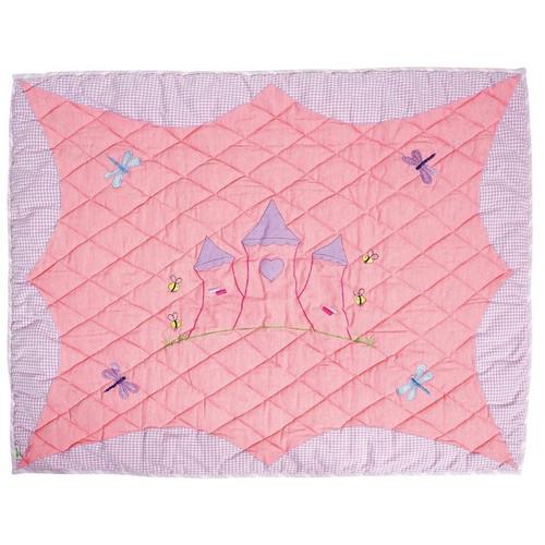 Win Green Princess Castle Floor Quilt - Large