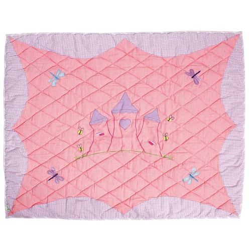 Win Green Princess Castle Floor Quilt - Small