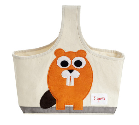 3 Sprouts Storage Caddy - Beaver - Cutout
