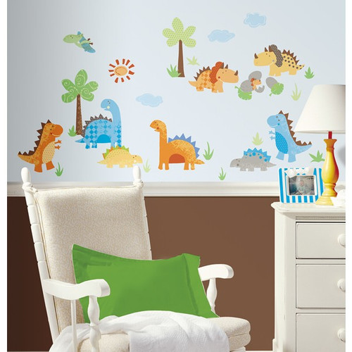 Babysaurus Wall Stickers - Roommates - Kids Wall Stickers