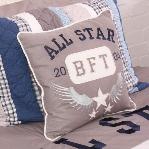 Babyface Varsity Cushion - Childrens Bedroom