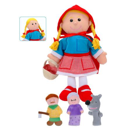 Little Red Riding Hood Hand Puppet Set