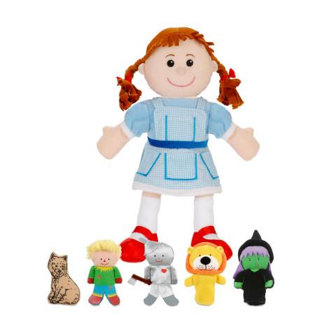 Wizard of Oz Hand Puppet Set
