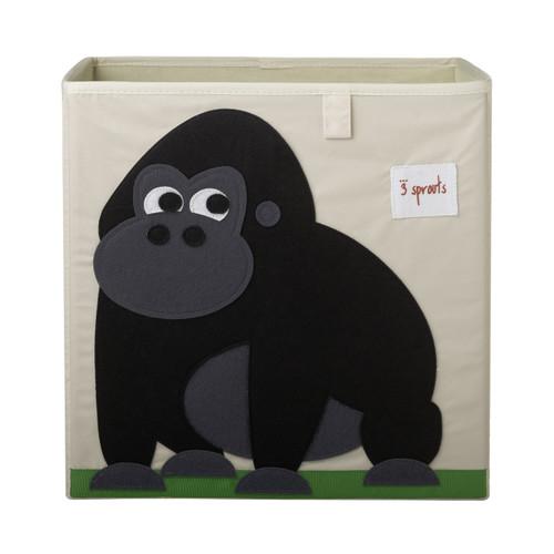 3 Sprouts Storage Box - Gorilla - NEW - Cube Storage