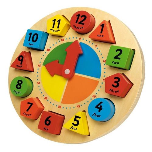 Sorting and Teaching Clock - John Crane Tidlo