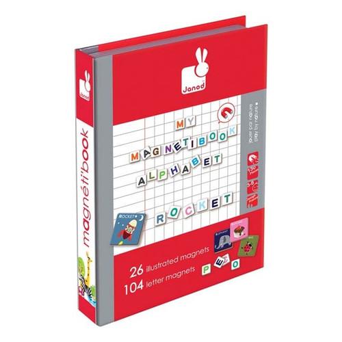 Janod Magnetic Book - Alphabet