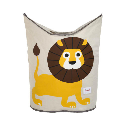 3 Sprouts Laundry Hamper Lion - Nursery Storage