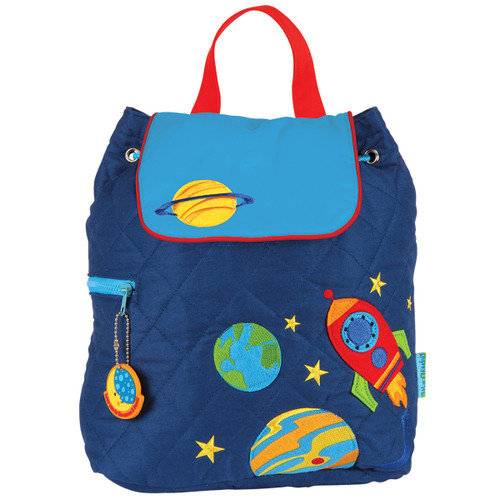 Stephen Joseph Quilted Space Backpack