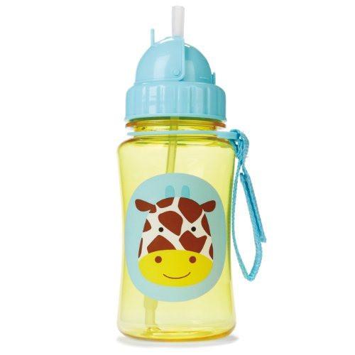 Skip Hop Straw Bottle Giraffe