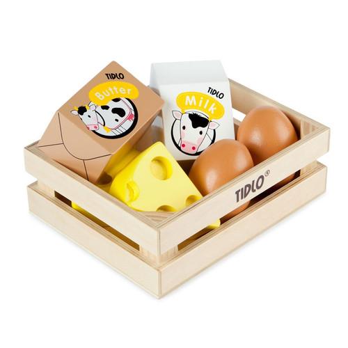 John Crane Tidlo Eggs and Dairy in Crate
