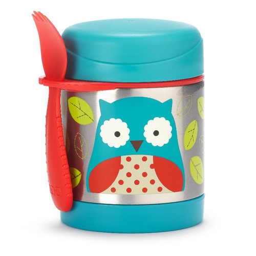 Owl insulated food jar - Skip Hop