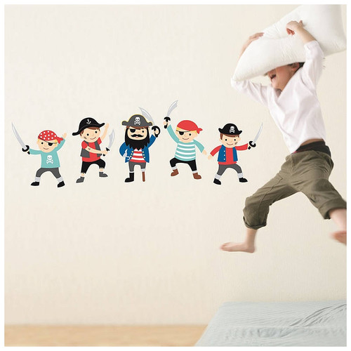 Speckled House Pirates Wall Stickers