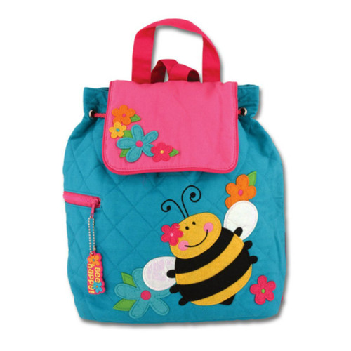 Stephen Joseph Quilted Bee Backpack