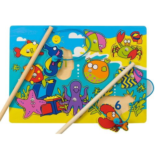 Magnetic fishing fun game from John Crane Tidlo