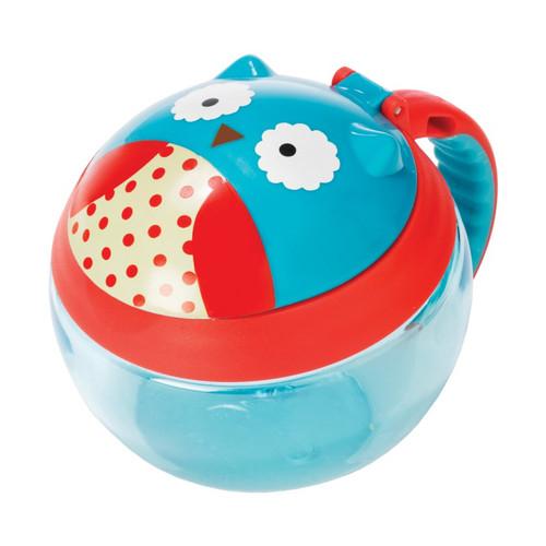Skip Hop Owl Snack Cup Side